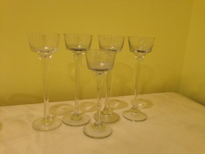 Michaels Clear 5 Tea Light Candle Holders Reception Decoration