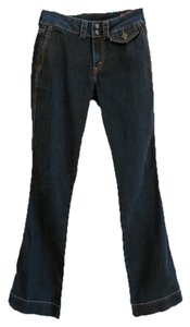 Levi's Dark Rinse Dark Wash Boot Cut Jeans-Dark Rinse