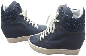 172132551d9 Steve Madden Wedgesneakers Wedge Fashionsneakers Sneakers Hightop Blue  Athletic