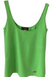 Versace Vintage Vintage Vintage Clothing Top Bright Lime Green