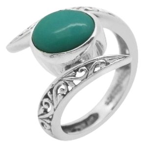 Genuine Sonoran Blue Turquoise Ring in Sterling Silver, 1.70cts