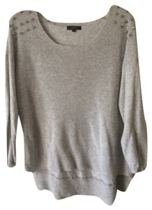 Millau Studded Hi-low Sweater