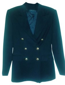 Ralph Lauren Double Breasted Navy Blue Blazer