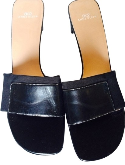 Anne Klein Black Sandals