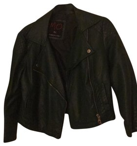 Members Only Green Leather Jacket