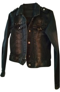 Abbey Dawn by Avril Lavigne Denim blue Womens Jean Jacket