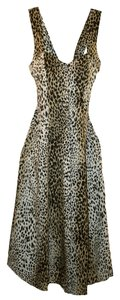 Victoria's Secret Vintage 1990 Animal Dress