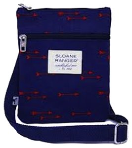 Sloane Ranger Adjustable Zippers Cross Body Bag