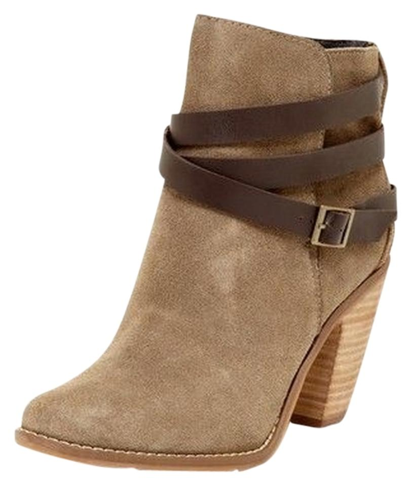 Dolce Taupe Vita Taupe Dolce Calia Suede Leather Boots/Booties f806fe