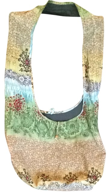 Item - Hobo Multicolor Cotton Beach Bag