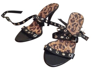 Dolce&Gabbana D&g High Heels Leather Black Sandals