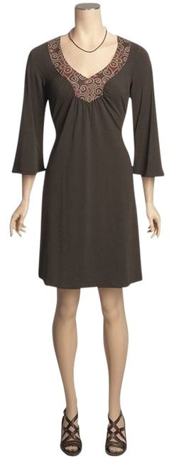 This is Prana (an outdoor brand) short dress Brown on Tradesy