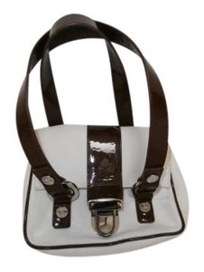 Trina Turk Satchel in White & Brown