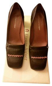 Leather Etienne Aigner Brown Pumps