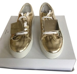 Acne PALE Gold Metallic Athletic
