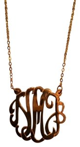 Name Jewelry Spot Monogram Necklace