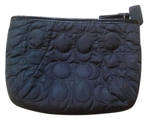 Coach Coach black cosmetic bag