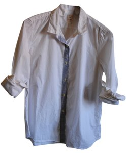 Gap Boyfriend Shirt Button Down Shirt White