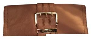 Michael Kors tan/brown Clutch