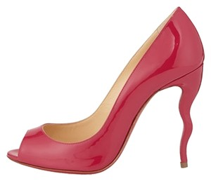 Christian Louboutin Jolly B 100mm Fushia Hot Pink Pumps