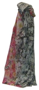 Talbots Talbots multi-color flower print scarf