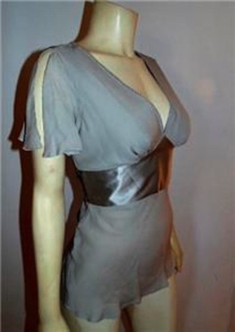 Express Size Small Top GRAY, SILVER