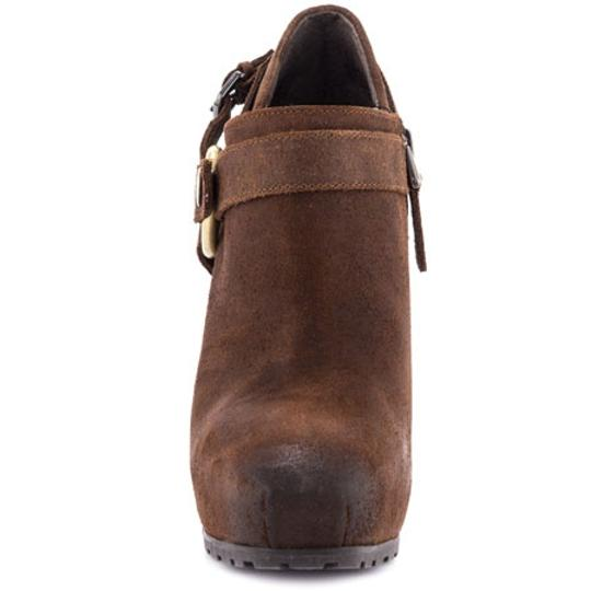 Guess Western Medium Brown Leather Boots Image 1
