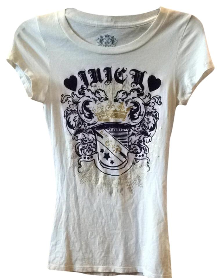 7d63defe Juicy Couture Tee Shirt Size 4 (S) - Tradesy