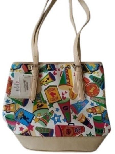Preload https://item1.tradesy.com/images/disney-beige-with-multi-color-mickey-design-shoulder-bag-8040-0-0.jpg?width=440&height=440