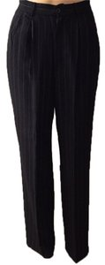 Trouser Pants Black/White