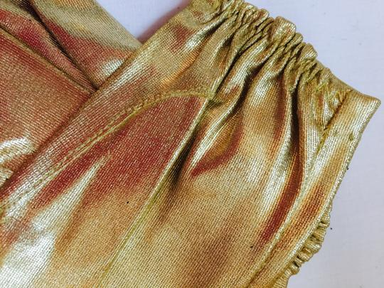 Gold To Enhance Dressy Outoit Gloves Image 3