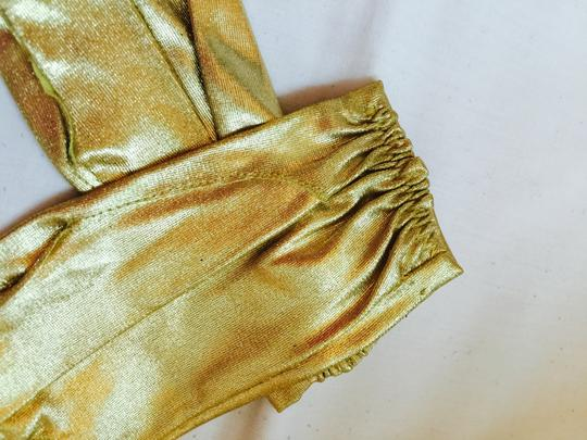 Gold To Enhance Dressy Outoit Gloves Image 5