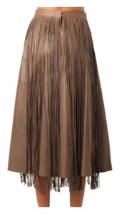Valentino Maxi Skirt Light Brown