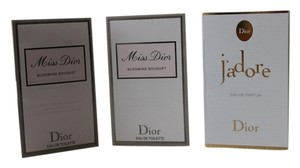 Dior 2 Miss Dior EDT and 1 j'adore EDP 1ml sprays