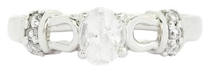 Ratanakiri White Zircon Sterling Silver Ring .98cts w/Certificate of Authenticity