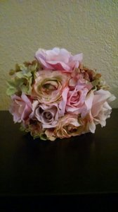 Faux Pink Bouquet