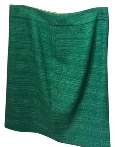 Banana Republic Skirt Green twead