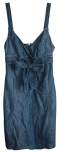 Level 99 short dress Denim on Tradesy