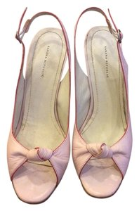Banana Republic Leather Pink Pumps