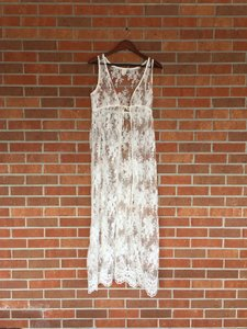 Eloise Ivory Sugared Lace Peignoir From Anthropologie