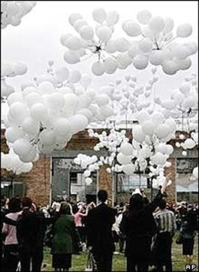 "White 576 Pcs - 12"" Birthday Party Decor Latex Balloons Indoor Outdoor Ceremony Decorations"