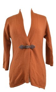 Cynthia Rowley Fall Autumn Orange Cardigan
