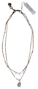 Jessica Simpson Jessica Simpson Double Chain Necklace- Lemet 401180
