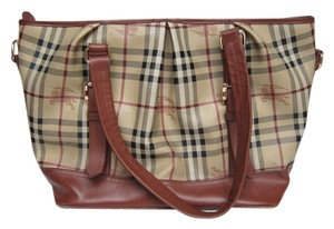 Burberry Vintage Large Shoulder Bag