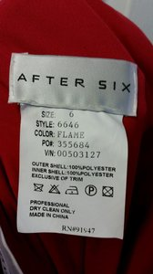 After Six Flame 6646 Dress