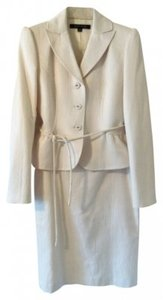 Anne Klein Anne Klein Cream Skirt Suit