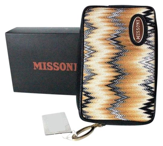 Missoni Multicolor Purse Cosmetic Hand Multi Clutch