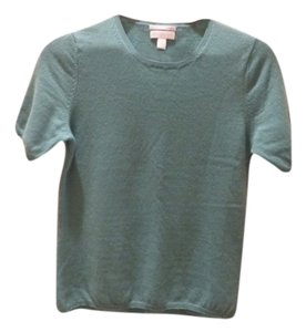Charter Club Cashmere Blue Green Sweater