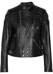 Sandro Biker Leather Leather Jacket