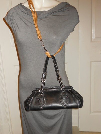 Cole Haan Leather Studded Satchel in black Image 1